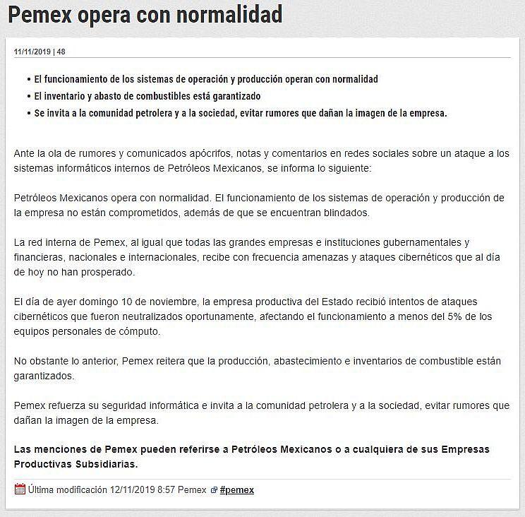 Attacco_Ransomware_comunicato_Pemex