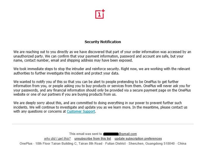 e-mail_OnePlus