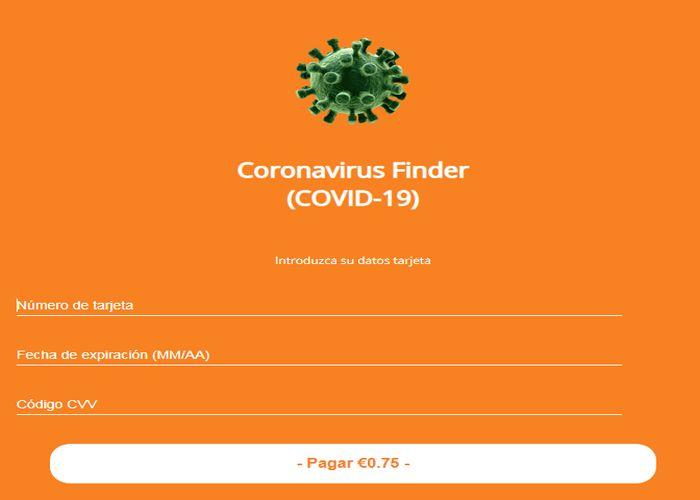 truffa_coronavirus_finder